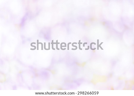 Artistic Soft light abstract background  blurred magic lights for your design. White pastel color - stock photo