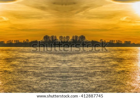Artistic work of my own. HDR processing.