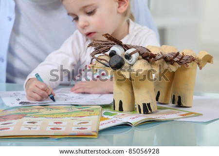 Arts and crafts - stock photo