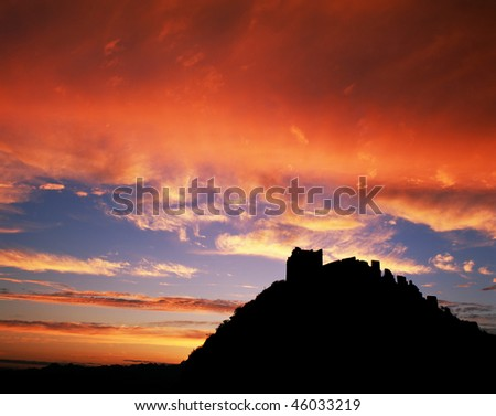 As a World Heritage Site by UNESCO in 1987, the Great Wall ('Chang Cheng' in chinese) is a true marvel and a testament to the long history of the Chinese Civilisation. - stock photo