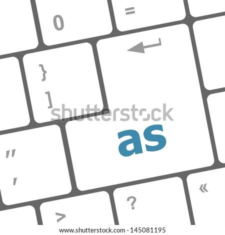 as button on computer keyboard key, raster - stock photo