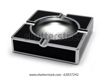 Ash-tray - stock photo