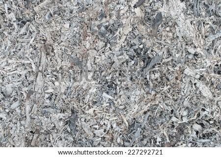 ashes  texture - stock photo