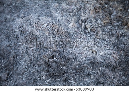 ashes texture - stock photo