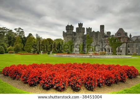 Ashford castle - stock photo