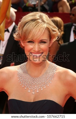 Ashlan Gorse  at the 60th Annual Primetime Emmy Awards Red Carpet. Nokia Theater, Los Angeles, CA. 9-21-08