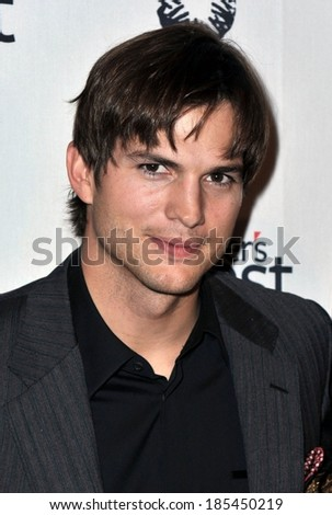 Ashton Kutcher at Half the Sky Turning Oppression into Opportunity for Women Worldwide Book Party, Moura Starr New York, New York, NY September 23, 2009 - stock photo
