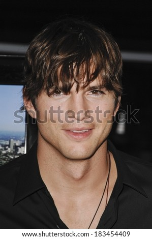 Ashton Kutcher at SPREAD Premiere, ArcLight Cinemas Hollywood, Los Angeles, CA August 3, 2009  - stock photo