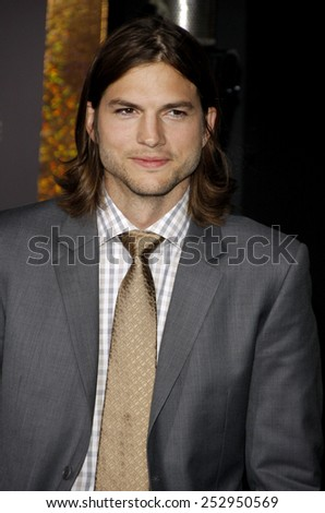 "Ashton Kutcher at the Los Angeles Premiere of ""New Year's Eve"" held at the Grauman's Chinese Theater in Los Angeles, California, United States on December 5, 2011.  - stock photo"