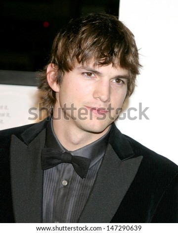"Ashton Kutcher ""Bobby"" Premiere  - AFI Opening Night Grauman's Chinese Theater Los Angeles, CA November 1, 2006 - stock photo"
