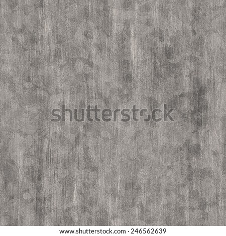 Ashy gray old grunge plaster seamless background - stock photo