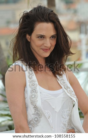 "Asia Argento at the photocall for her new movie ""Dario Ardento's Dracula 3D"" in competition at the 65th Festival de Cannes. May 19, 2012  Cannes, France Picture: Paul Smith / Featureflash"