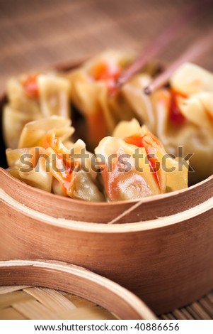 Asia food, dimsum - stock photo