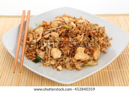 asia rice - stock photo