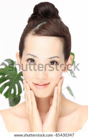 Asian beauty - stock photo