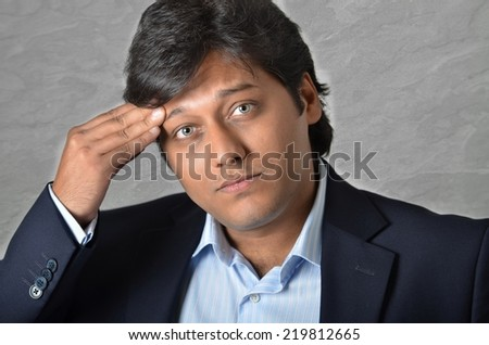 Asian business man - stock photo