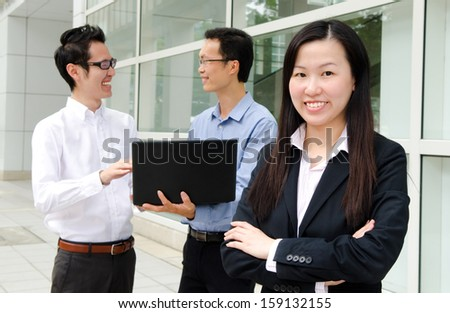 Asian business peoples