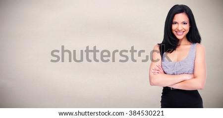 Asian business woman. - stock photo