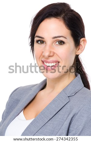 Asian businesswoman portrait - stock photo