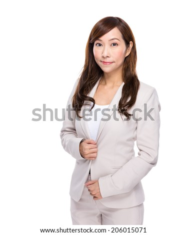 Asian confident businesswoman - stock photo