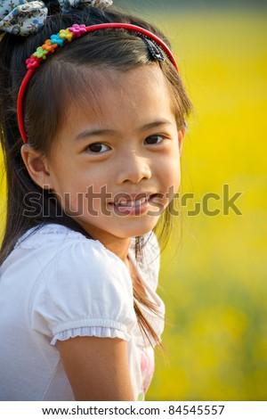 Asian cute girl. - stock photo