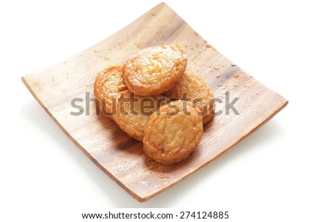 Asian food, fish cake - stock photo