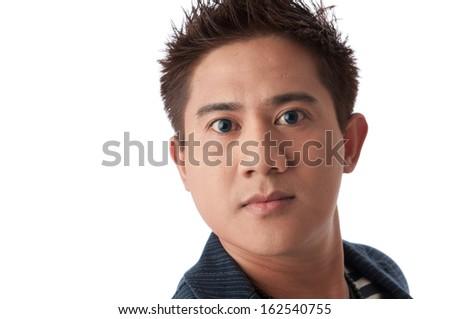 Asian male portrait  - stock photo