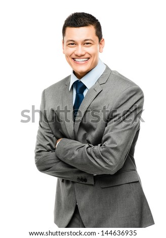 asian man happy business sexy - stock photo