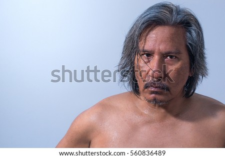 Men skin Asian