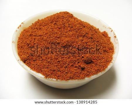 Asian red chili - stock photo
