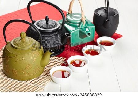 Asian tea - stock photo