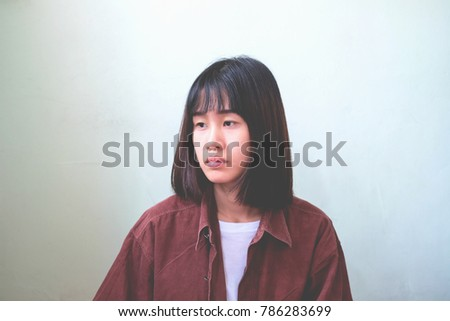 For Asian woman in missing