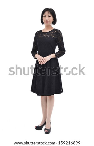 Asian woman. Smiling Asian Educational / Business woman. - stock photo
