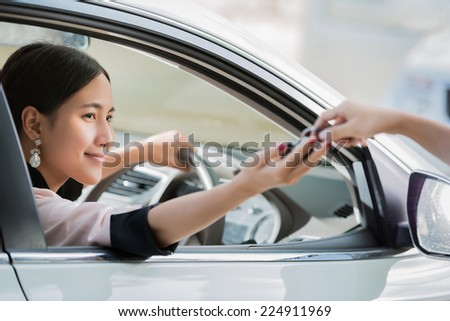 Asian women are a key driver of the car