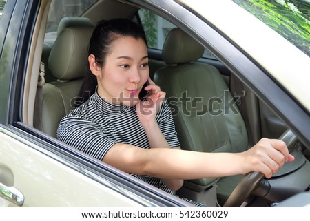 Criticising asian lady driving