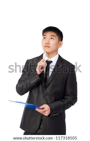 Business man Asian