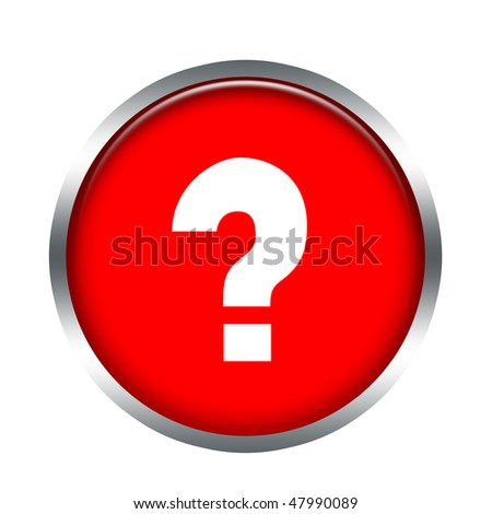 ask button - stock photo