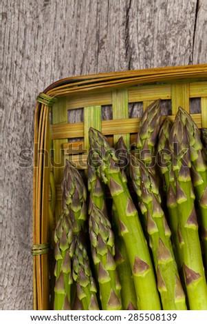 Asparagus. Selective focus. - stock photo