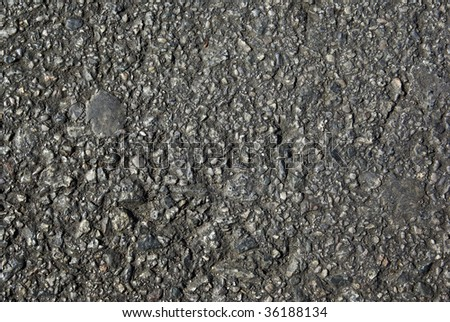 Asphalt as abstract background or backdrop. Europe, Spain. - stock photo