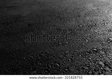 Asphalt background texture - stock photo