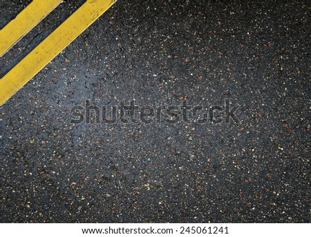 Asphalt road background - stock photo