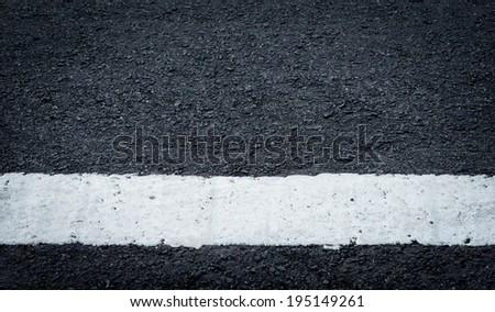 asphalt road textuer background - stock photo