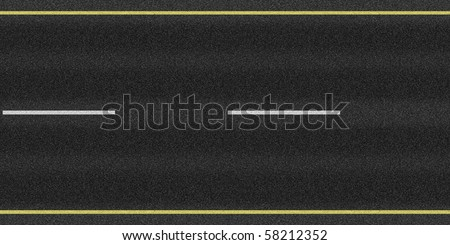 Asphalt road texture loop - stock photo