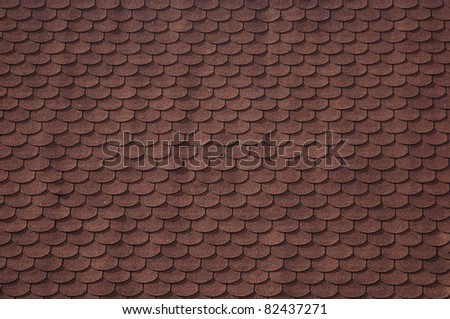 Asphalt roofing shingles, seamless background - stock photo