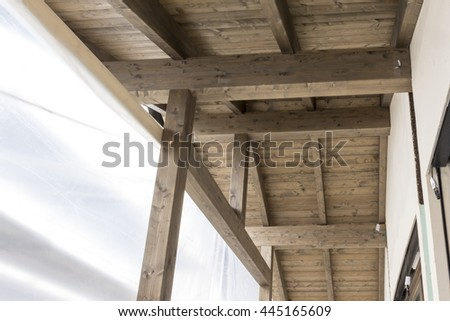 assembly of prefabricated wooden house