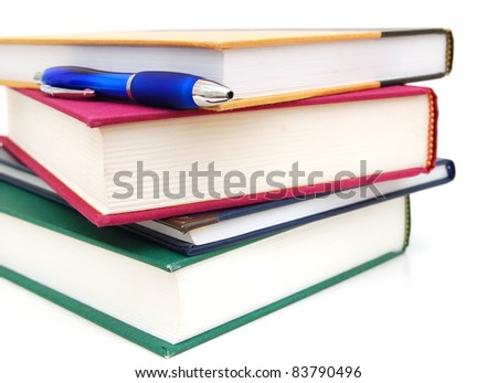 Assignment books: on reviewing - stock photo