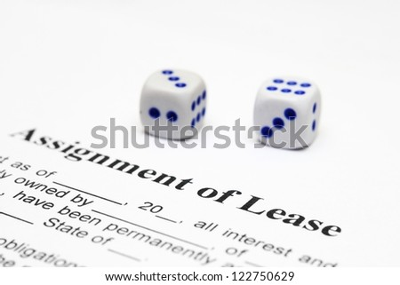 Assignment of lease