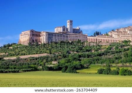 Assisi  - stock photo