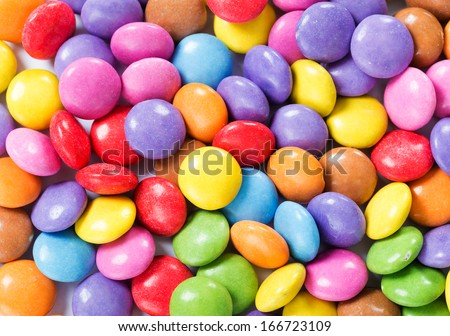 Assorted candy - stock photo