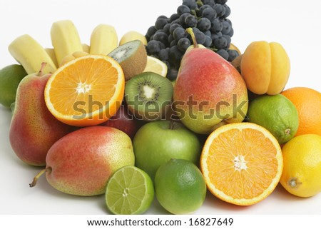 Assorted fruits -  Healthy food
